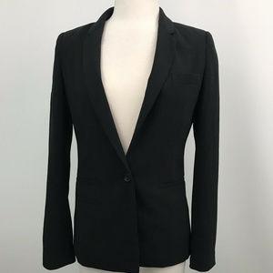 Joie Black One Buttoned Blazer Long Sleeve Sz- 2
